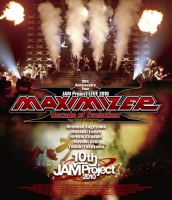 900【Blu-ray】JAM Project/JAM Project LIVE 2010 MAXIMIZER Decade of Evolution LIVE BD