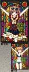 【グッズ-クリアファイル】グリザイアの楽園 着せ替えクリアファイル/D:入巣蒔菜