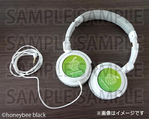 apple-polisherオリジナルヘッドフォン