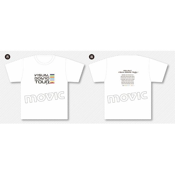 アイドリッシュセブン Tシャツ VISUAL BOARD TOUR 2017