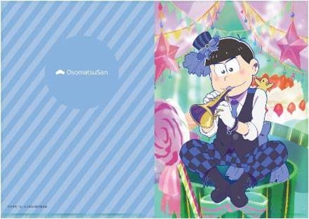【グッズ-クリアファイル】おそ松さん【描き下ろし】吹奏楽松クリアファイル/カラ松
