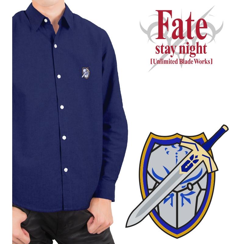 Fate/stay night[Unlimited Blade Works] オックスフォードシャツ(セイバー)メンズ/(サイズ/L)