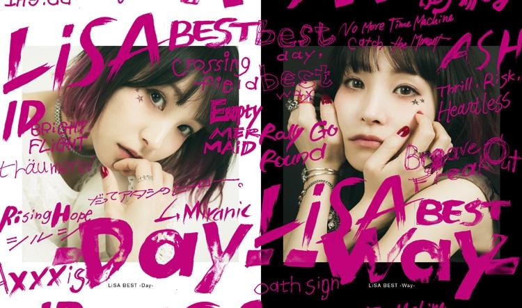 【アルバム】LiSA/LiSA BEST -Day-&LiSA BEST -Way- 完全数量生産限定盤