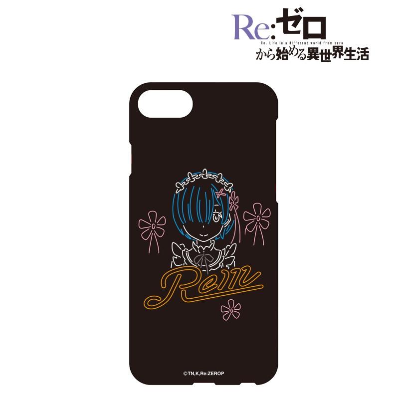 Re:ゼロから始める異世界生活 Ani-Neon iPhoneケース(レム)(対象機種/iPhone 7)