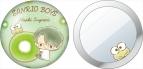 【グッズ-ミラー】サンリオ男子 缶ミラー 菅見直樹