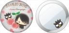 【グッズ-ミラー】サンリオ男子 缶ミラー 雨ケ谷昴