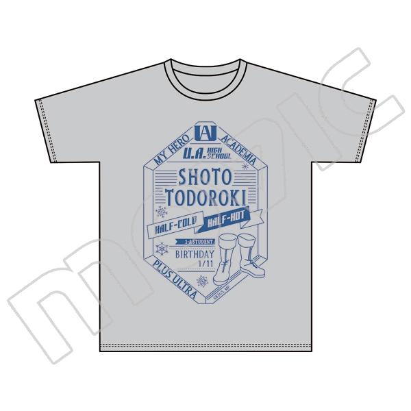 【グッズ-Tシャツ】僕のヒーローアカデミア ヒーローTシャツ/E:轟