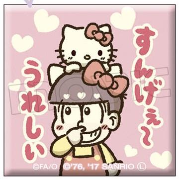 おそ松さん×Sanrio Characters キャラバッジコレクション/A