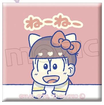 おそ松さん×Sanrio Characters キャラバッジコレクション/B