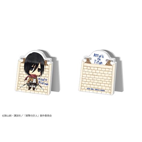 進撃の巨人 アクリルメモスタンド/02:ミカサ