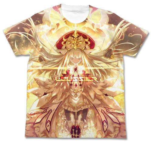 白猫プロジェクト 贖罪の聖女ルウシェ フルグラフィックTシャツ/WHITE-XL