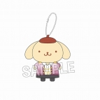 【グッズ-マスコット】ユーリ!!! on ICE×サンリオキャラクターズ 指の上シリーズ ポムポムプリン