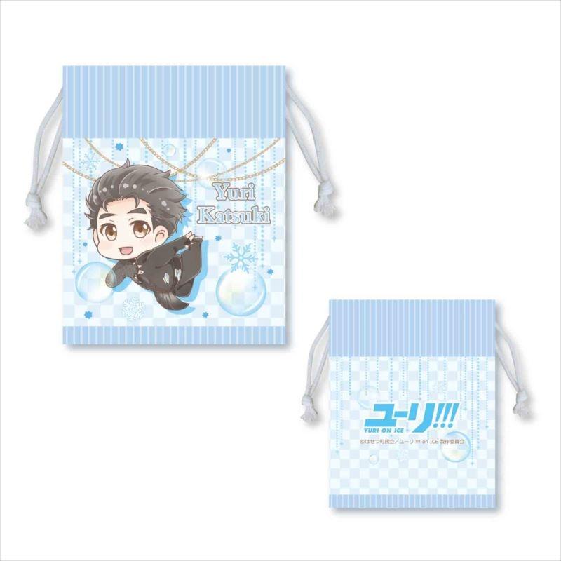 【グッズ-巾着袋】ユーリ!!! on ICE  ぷかっしゅ巾着  勇利