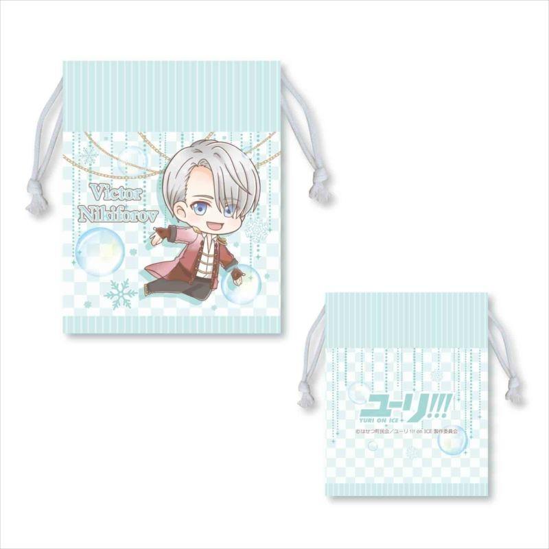 【グッズ-巾着袋】ユーリ!!! on ICE  ぷかっしゅ巾着  ヴィクトル