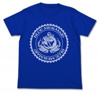アニメイトオンラインショップ900【グッズ-Tシャツ】ハイスクール・フリート ブルーマーメイド ドライTシャツ COBALT BLUE M
