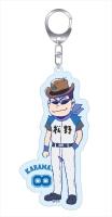 アニメイトオンラインショップ900【グッズ-キーホルダー】おそ松さん 第88回センバツ大会 アクリルキーホルダー カラ松