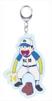 アニメイトオンラインショップ900【グッズ-キーホルダー】おそ松さん 第88回センバツ大会 アクリルキーホルダー 十四松