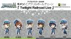【グッズ-キーホルダー】えふぉるめ アイドルマスター SideM キメっ!とアクリルボールチェーン Twilight Railroad Live