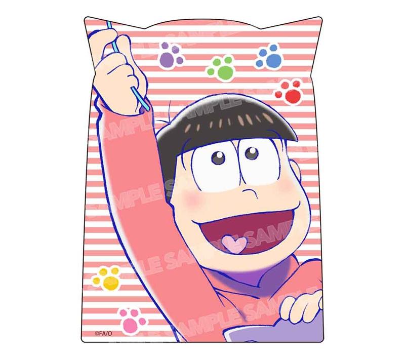 【グッズ-ステッカー】おそ松さん ダイカットステッカー ニャンコ6つ子ver.(おそ松)