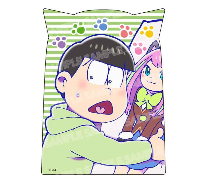 【グッズ-ステッカー】おそ松さん ダイカットステッカー ニャンコ6つ子ver.(チョロ松)