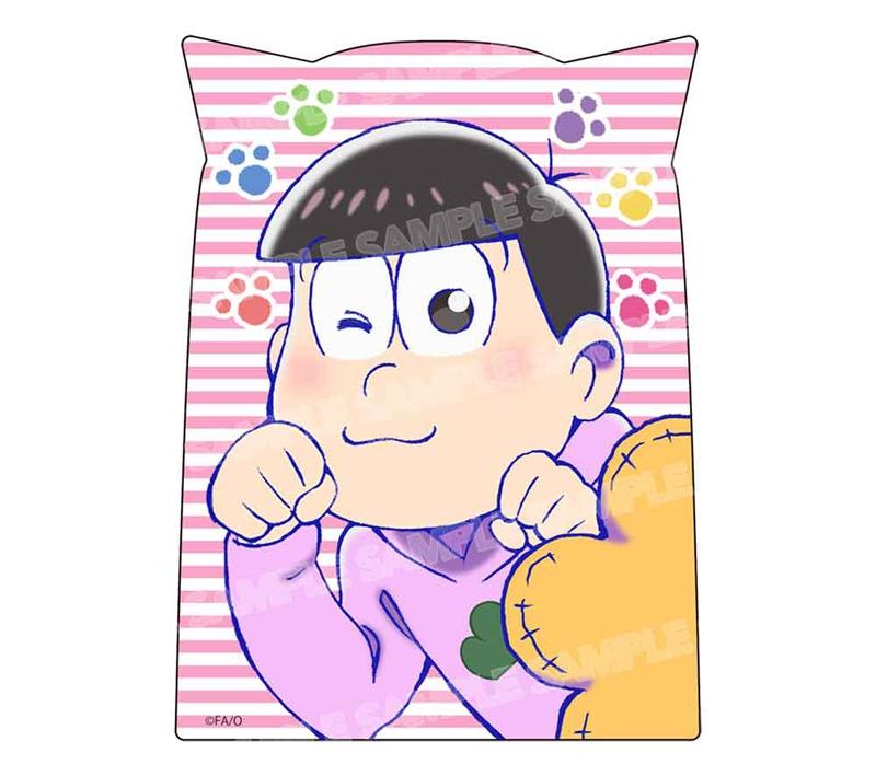 【グッズ-ステッカー】おそ松さん ダイカットステッカー ニャンコ6つ子ver.(トド松)