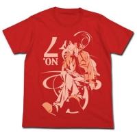 900【グッズ-Tシャツ】カゲロウプロジェクト メカクシティアクターズ シンタローTシャツ FRENCH RED-XL