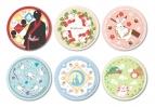 【グッズ-皿】鬼灯の冷徹 第弐期 ミニ絵皿コレクション