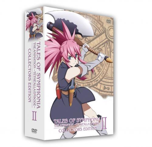 900【DVD】OVA「テイルズ オブ シンフォニア THE ANIMATION」 テセアラ編 第2巻 コレクターズ・エディション 初回限定版