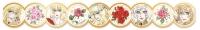 900【グッズ-テープ】ベルサイユのばら マスキングテープB(バラ)