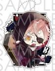 【グッズ-パスケース】DIABOLIK LOVERS ちびっこヴァンパイア Bloody Villain アクリルパスケース/シン