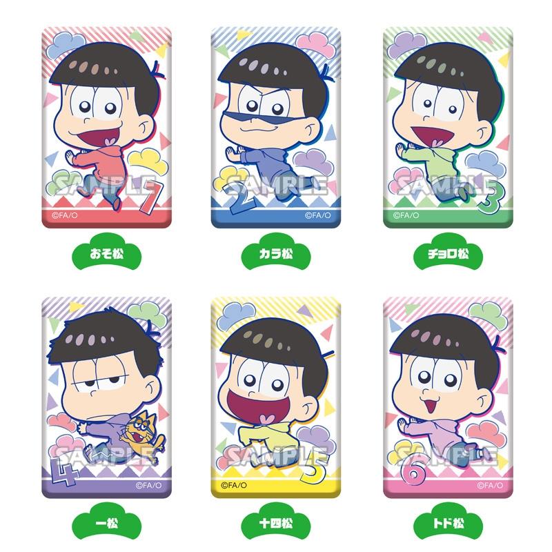 【グッズ-バッチ】おそ松さん しかくい缶バッジコレクション