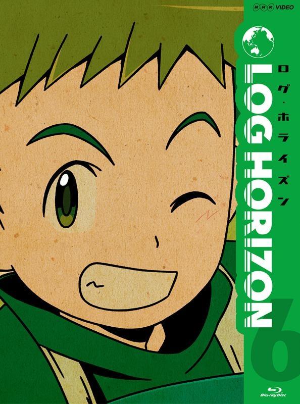 900【Blu-ray】TV ログ・ホライズン 6