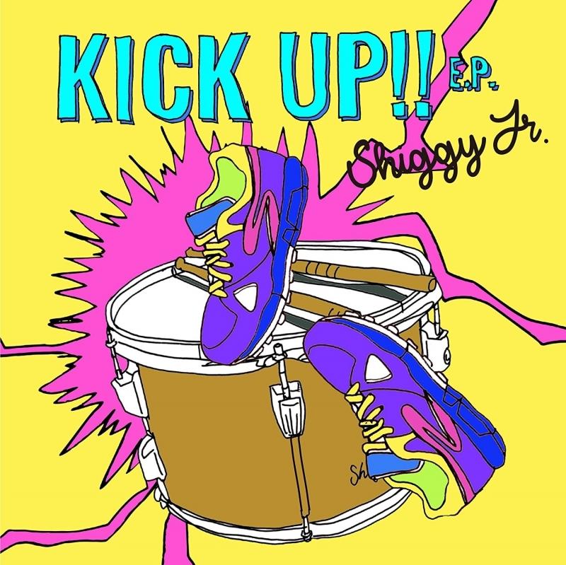 【主題歌】TV 斉木楠雄のΨ難 OP「お手上げサイキクス」収録EP KICK UP!! E.P./Shiggy Jr. 初回限定盤
