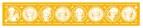 【グッズ-タオル】「下野紘の目覚めしもの」 マフラータオル 黄色