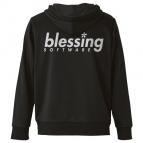【グッズ-ジャンパー・コート】冴えない彼女の育てかた♭ blessing softwareドライパーカー/BLACK-L