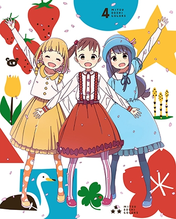 【Blu-ray】TV 三ツ星カラーズ Vol.4