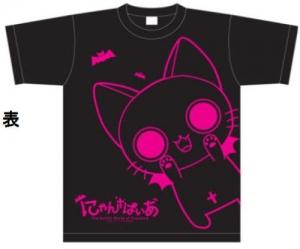 【クリックでお店のこの商品のページへ】【グッズ-Tシャツ】にゃんぱいあ Tシャツ ブラック/サイズ:S