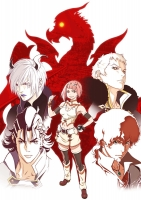 900【Blu-ray】TV 神撃のバハムート VIRGIN SOUL III 初回限定版