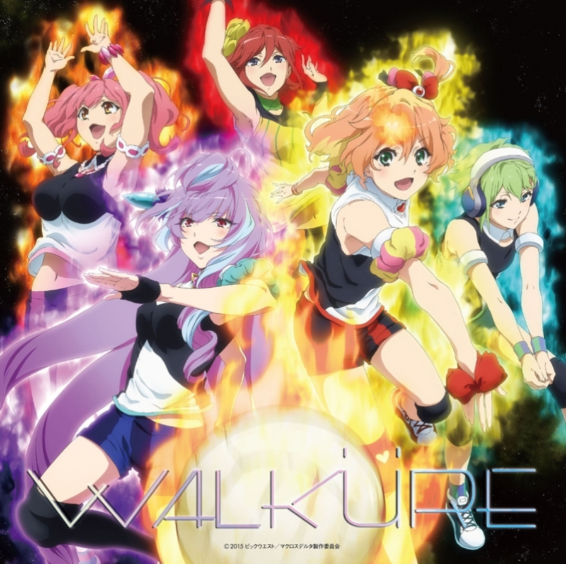 【アルバム】TV マクロスΔ 1stフルアルバム Walkure Attack!/ワルキューレ 通常盤