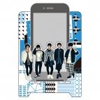 【グッズ-携帯グッズ】【&6allein 1st LIVE】 スマートフォンスタンド
