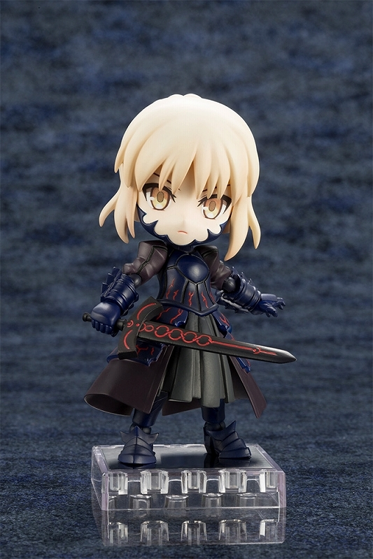 【アクションフィギュア】Fate/Grand Order キューポッシュ セイバー/アルトリア・ペンドラゴン[オルタ]