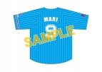 【グッズ-Tシャツ】ラブライブ!サンシャイン!! Aqours ベースボールユニフォーム(鞠莉)【再販】