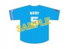 【グッズ-Tシャツ】ラブライブ!サンシャイン!! Aqours ベースボールユニフォーム(ルビィ)【再販】