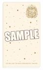 【グッズ-ファイル】うたの☆プリンスさまっ♪  チケットフォルダ シャイニングエンブレム  アイボリーVer.