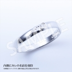 【グッズ-指輪】ボーイフレンド(仮) ペアリング 堤誠志郎 レディースモデル/9号
