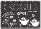 【グッズ-スケッチブック】ハイキュー!! 黒クロッキー帳/月島&山口