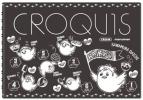 【グッズ-スケッチブック】ハイキュー!! 黒クロッキー帳/二年生&三年生