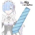 【グッズ-ネクタイ】Re:ゼロから始める異世界生活 ジャガード織りネクタイ レム