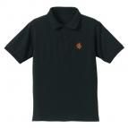 【グッズ-Tシャツ】甲鉄城のカバネリ カバネ刺繍ポロシャツ BLACK L