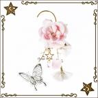 【グッズ-キャラ&アクセサリー】AMNESIA CROWD × Aerl*les bijoux イヤーフック CLEAR:オリオン